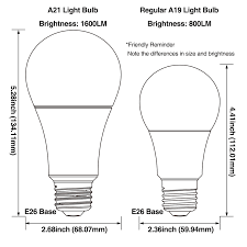 15 5w dimmable led a21 bulb 100w equivalent a21 light bulb