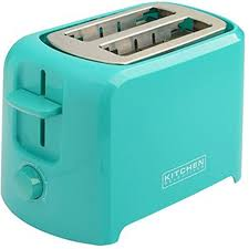 Kitchen Selectives Cool Touch 2 Slice Teal Toaster