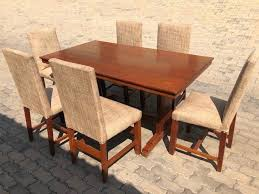 Solid Teak Wood 6 Seater Dining Room Suite Table Dimensions 152m