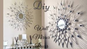 100 Decorated Wall Diy Quick And Easy Glam Mirror Decor Decorating Idea