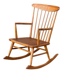 Mid Century Danish Modern George Nakashima Style Spindle Back ... Vintage Thonetstyle Bentwood Cane Rocking Chair Chairish Thonet A Childs With Back And Old Trade Me Past Projects Rjh Collection Outdoor Chairs Cracker Barrel Country Hickory For Sale Victorian Walnut Ladys At 1stdibs Antique Wooden With Wicker Seats Thing Early 1900s Maple Lincoln Rocker Pair French Provincial Accent Peacock Lounge Good In White