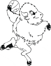 Free Buffalo Coloring Picture