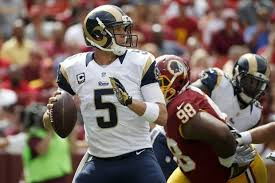 Nick Foles benched by St Louis Rams