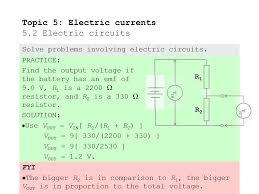 521Define Electromotive Force Describe The Concept Of Internal