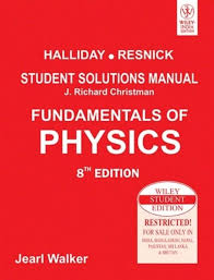Fundamentals Of Physics Student Solutions Manual 8th Edition