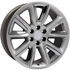 Amazon.com: 22x9 Wheel Fits GMC Chevy Trucks - Chevy Tahoe Style Rim ... Chevygmc Truck Wheels Cuevas Tires Gallery 22 Gm Sierra Silverado 1500 Black Rims Factory Oem Set 4 Painted Black Stock Wheels Chevy Forum Club Inch Snowflake Oe Chrome Replica Wheel Offset 2010 Chevrolet Aggressive 1 Outside G04 20x9 27 Custom Are These Oem And Do Silverados Come With Them Gmc Readylift Stage Sst Lift Kit Install Altitude Addiction 33s On 18s Ford F150 Rims Wheel Rim Factory Oem Used Replacement Bolt Pattern Wwwtopsimagescom For Trucks