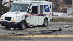 100 Usps Truck Tracker USPS Truck Involved In Collision