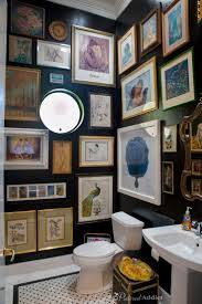 Guest Bathroom Decor Ideas Pinterest by Best 25 Black Powder Room Ideas On Pinterest Black Bathrooms