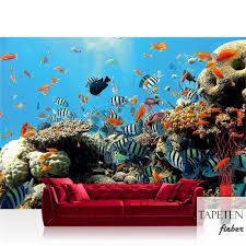 vlies fototapete no 1922 tiere tapete unterwasser aquarium fische korallen meer blau