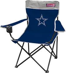 100 Folding Chair With Carrying Case Dallas Cowboys Outdoor TAILGATE PARTY SITE