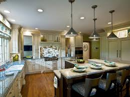 flush ceiling lights kitchen cabinet lighting country kitchen