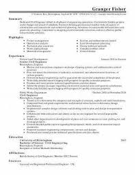 Simple Resume Format For Freshers New Summary Examples Engineering