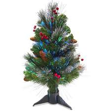 Types Of Christmas Trees With Sparse Branches by 6 U0027 Pre Lit Color Changing Fiber Optic Artificial Christmas Tree
