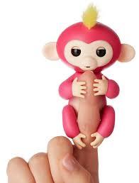 Fingerlings Baby Monkey Toy 2017 Pink Bella 2018