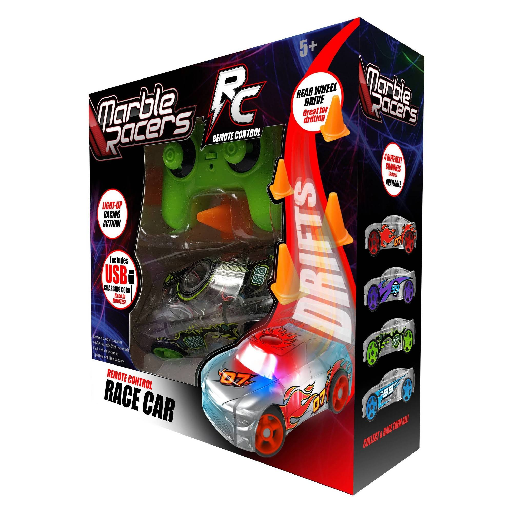 Marble Racers RC Race Car - Green