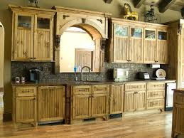 Rustic Style Kitchen Cabinet Popular Of Country Cabinets And Home