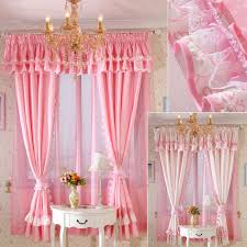 Priscilla Curtains With Attached Valance by Wonderful Girly Window Curtains Decorating With 405 Best Curtain