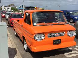 100 Chevy Corvair Truck Spotted In Ireland 1961 AwesomeCarMods