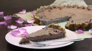 vegan chocolate cake schoko tarte ohne backen