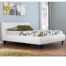 Velvet Tufted Beds Trend Watch Hayneedle by Millennium Jansey Metro Modern White Queen Bed With Headboard