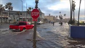 Flooding In Ocean Beach 1/6/2016 San Diego - YouTube