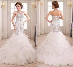 online get cheap mermaid silver corset dress aliexpress com