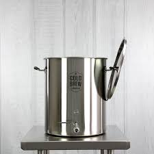 Commercial Cold Brew Coffee Maker 15 Gallon 50 Micron