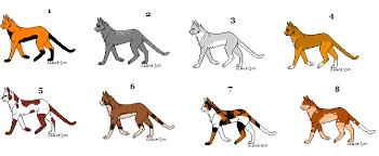 warrior cat names warrior cat adoptables 1 by transformersmanic on deviantart