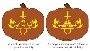 Pumpkin Carving Stencils 2015 by Free Bill Cipher Jack O Lantern Stencils Inspired By Gravity Falls