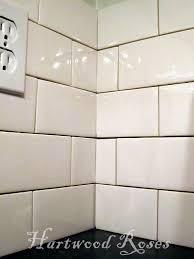 how to install subway tile backsplash corners