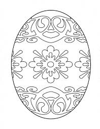 Free Printable Easter Coloring Pages Eggs