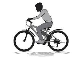 Royalty Free Cycling Class Clip Art