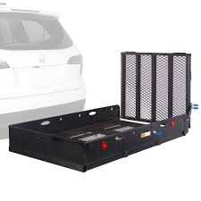 100 Hitches For Trucks Apex Steel Utility Cargo Carrier With Ramp Discount Ramps