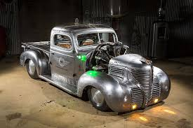 100 1939 Gmc Truck Plymouth Air Radial Roadkill Customs