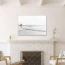Large Black And White Photography Surf Decor Surf Art Large Etsy