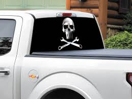 Product: Metal Skull Steel Rear Window Decal Sticker Pick-up Truck ... Amazoncom Vuscapes Dodge Ram D Plate Rear Window Truck Camowraps Elk Graphic Film For Mid And Fullsize Adhesive Perf Unique Banner Prting Corp Attn Ownstickers In The Rear Window Or Not Mtbrcom Show Me Your Decalsstickers Page 68 Ford F150 Custom Business Logo Advertising Design Bald Eagle Ar 15 Tint Decal Sticker Realtree Logo Graphicrealtree Xtra Camo Vehicle Promos Advertising Vinyl Decals Galore How To Put A Decal On Truck Youtube Sticker Cool Stickers Ideal Windshield