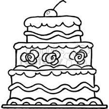 Elegant Three Tiered Wedding Cake