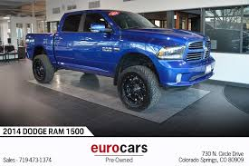 100 Trucks For Sale In Colorado Springs 2014 Ram 1500 Sport Stock E18075C For Sale Near