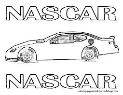 Nascar Race Car Clipart Panda Free Images Printable Coloring Page