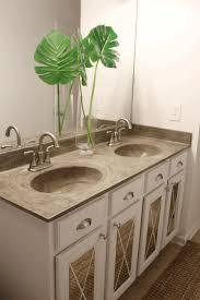 diy bathroom rack white porcelain console sink white marbled
