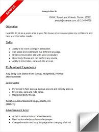 Objective In Resume For Service Crew