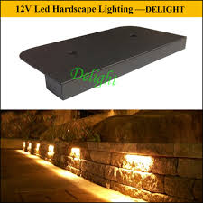 12v led retaining wall lights guangdong delight technology co ltd