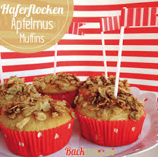 haferflocken apfelmus muffins backgaudi