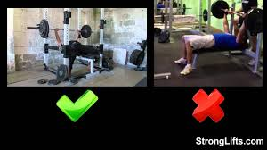 How To Bench Press With Proper Form StrongLifts 5x5