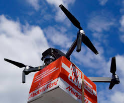 Drone Vs. Truck Deliveries: Which Create Less Carbon Pollution?   UW ...