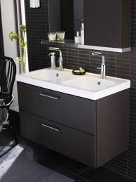 Ikea Braviken Double Faucet Trough Sink by Bathroom Sink Under Cabinet However Not Some People Choose The