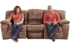 Cindy Crawford Sectional Sofa Dimensions by Cindy Crawford Home Alpen Ridge Tan Reclining Sofa Sofas Brown