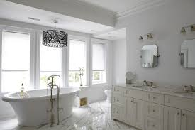 Chandelier Over Bathroom Vanity by 20 Breathtaking Bathrooms