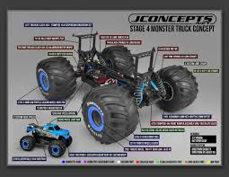 100 Truck Suspension JConcepts Traxxas Slash 4x4Stampede 4x4 Monster
