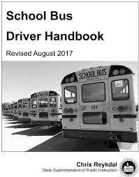 Washington State School Bus Driver Handbook